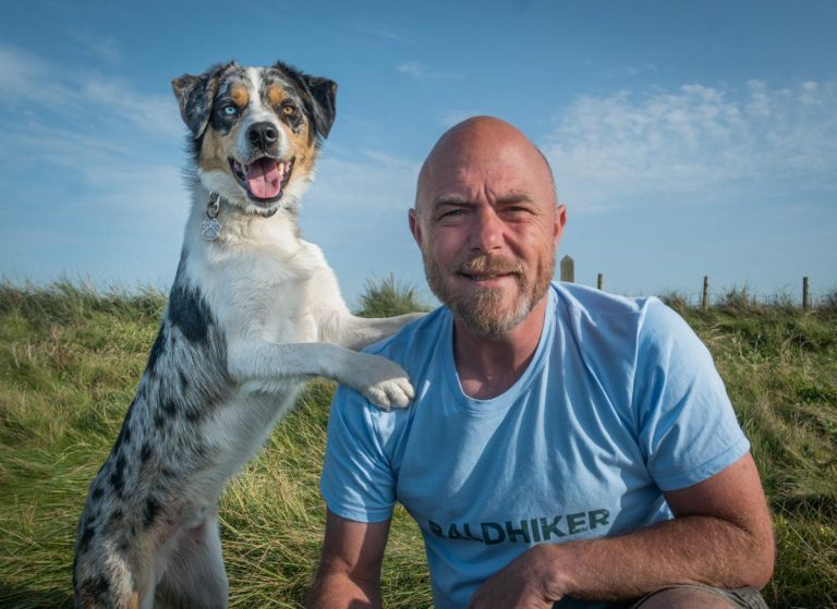 paul steele and border collie