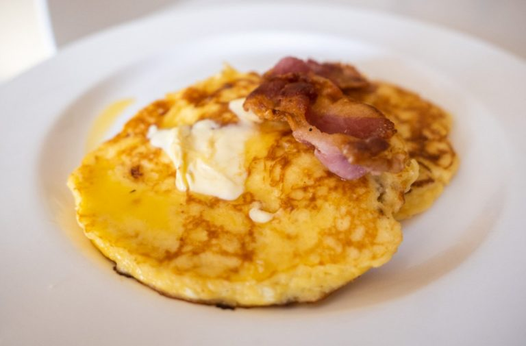 Keto Pancakes Using Cottage Cheese and Coconut Flour