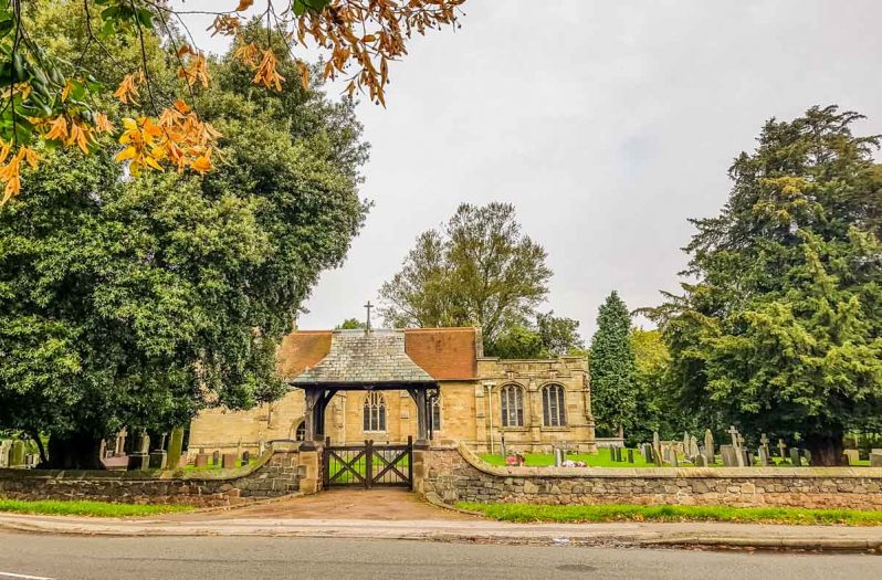 St Winifreds Church and the Lychgate Kingston on Soar_