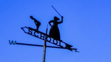 school sign Broadstairs