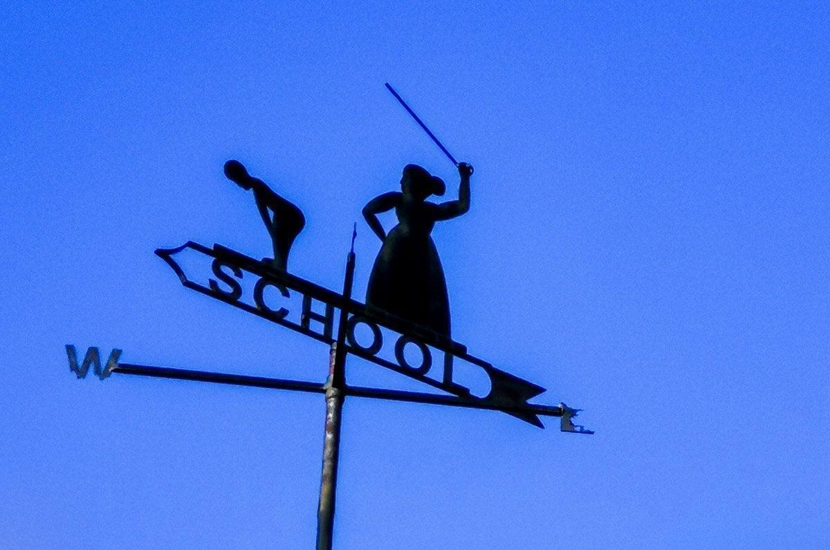 school sign Broadstairs