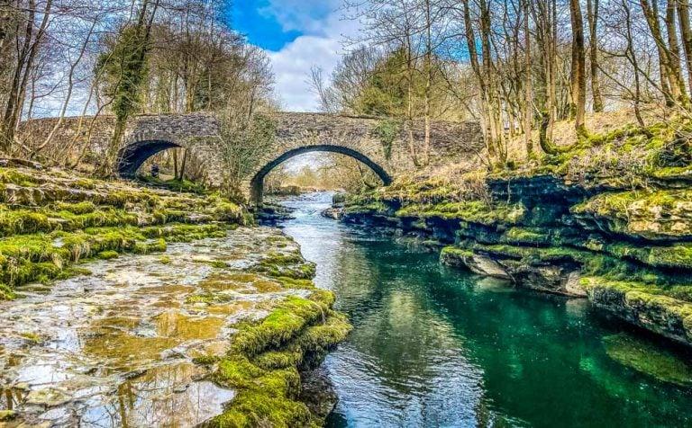 Hawes Bridge And The River Kent Circular Walk