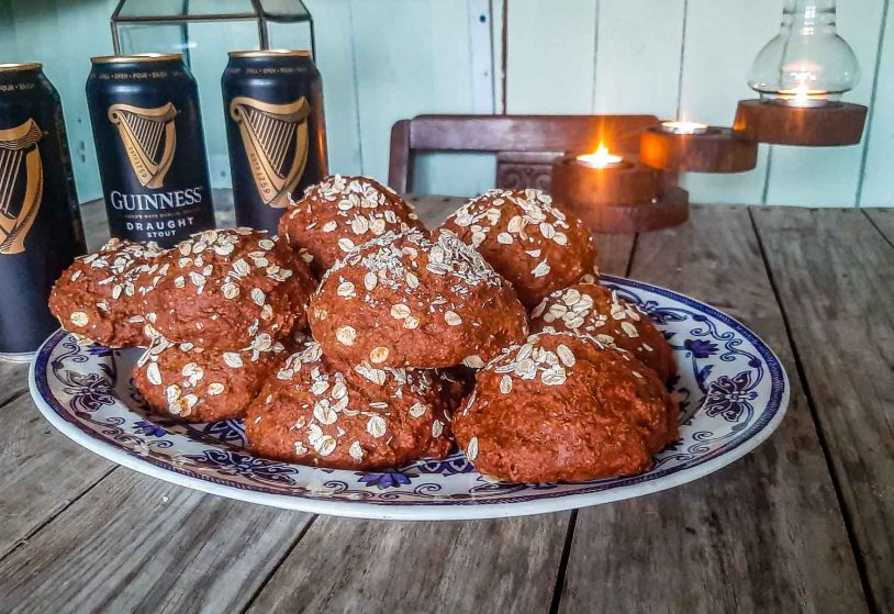 Irish oaten rolls serving suggestion