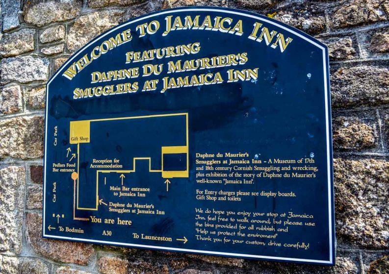 Jamaica Inn Welcome Sign
