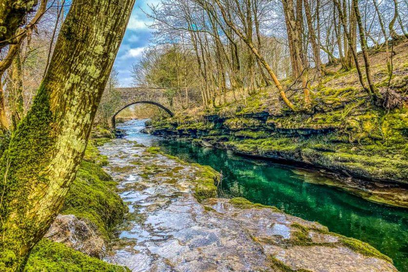 hawes bridge from afar
