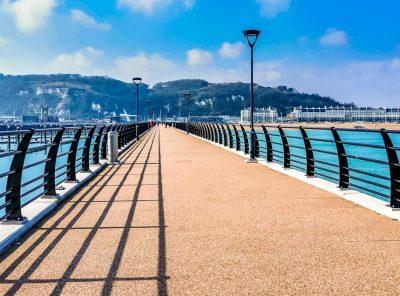 A Walk Along The New Marina Pier At Dover