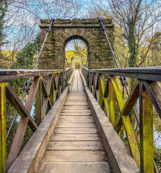 low park wood bridge