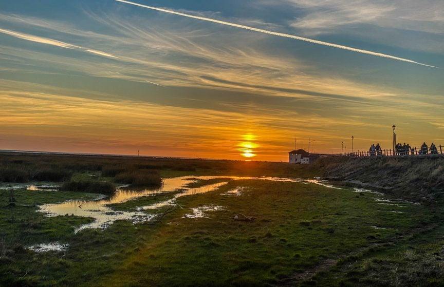 lytham st annes sunset