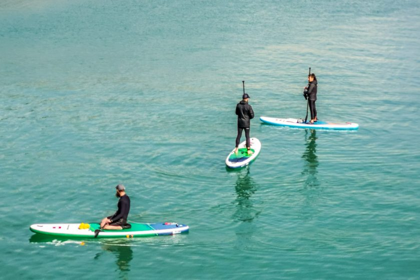 paddleboarders dover