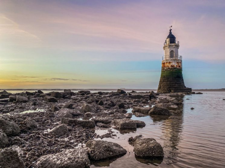 sea view plover scar lighthouse