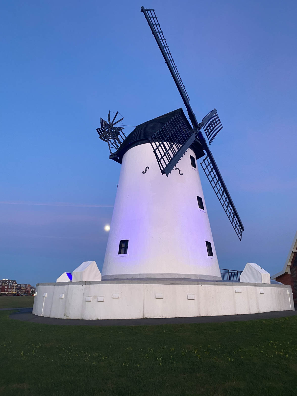 side of lytham windmill