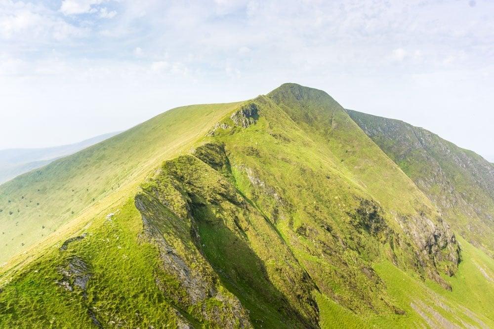 the Nantlle ridge