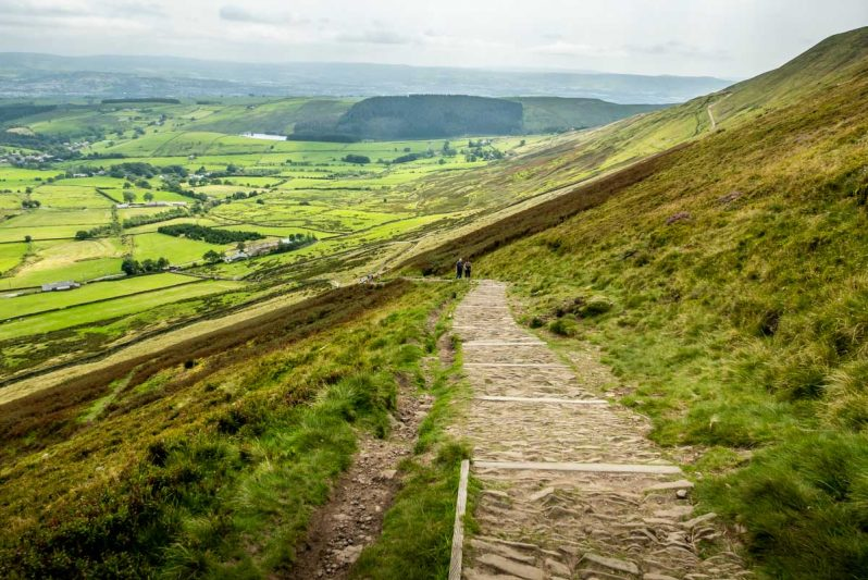 the path at pendle