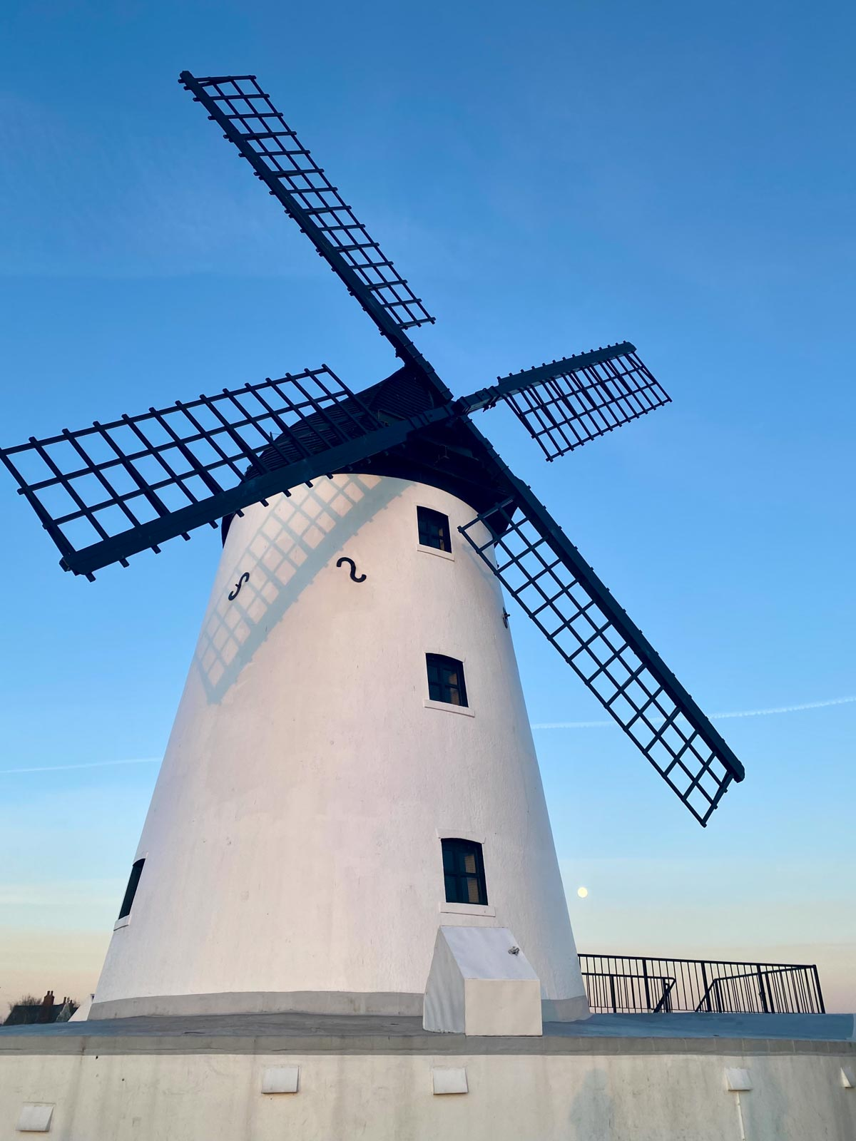 the windmill close up