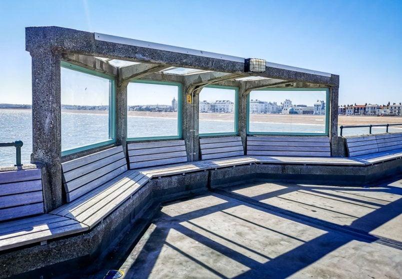 Deal Pier shelter