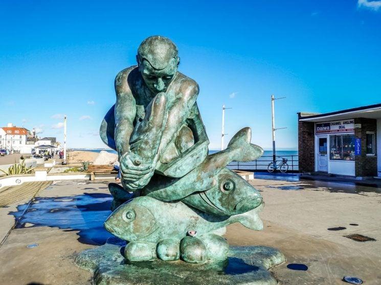 Del Pier sculpture
