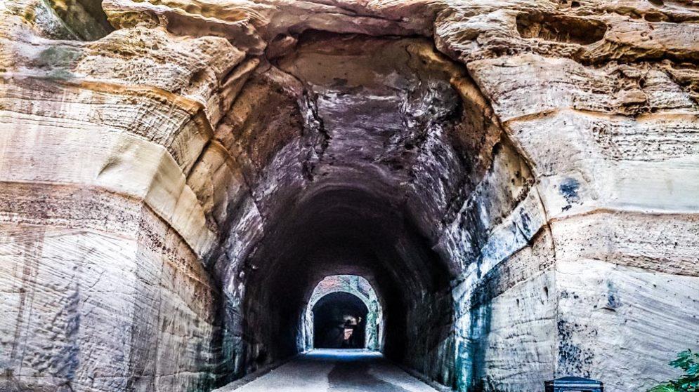 Park Estate tunnel nottingham