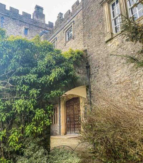 door entrance to castle