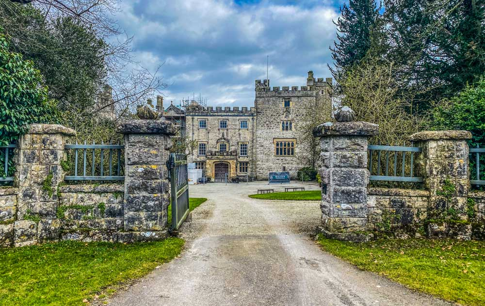 entrance to sizergh castle