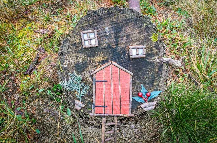 tree fairy house