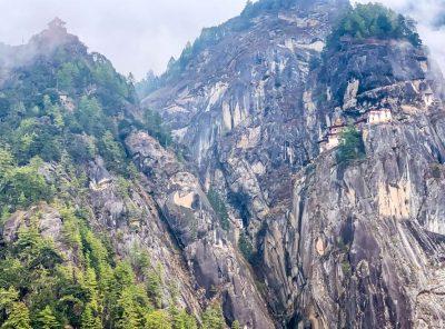 A Hike To Tiger's Nest Teahouse, Bhutan