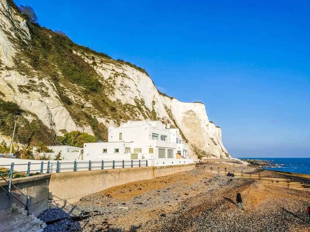 fleming's house beneath cliffs, kent