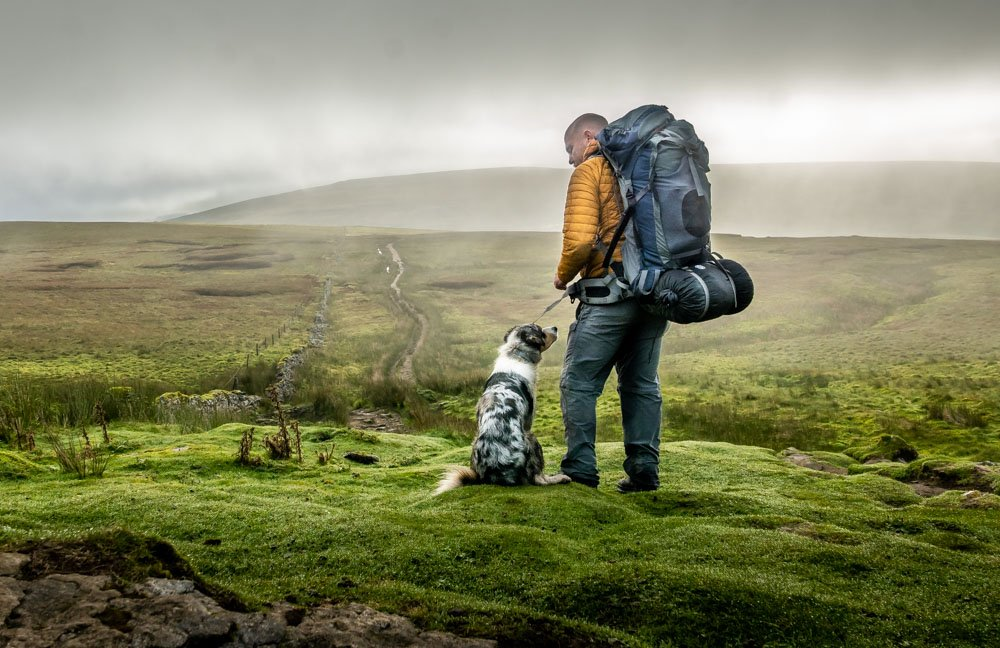 backpack wild camping