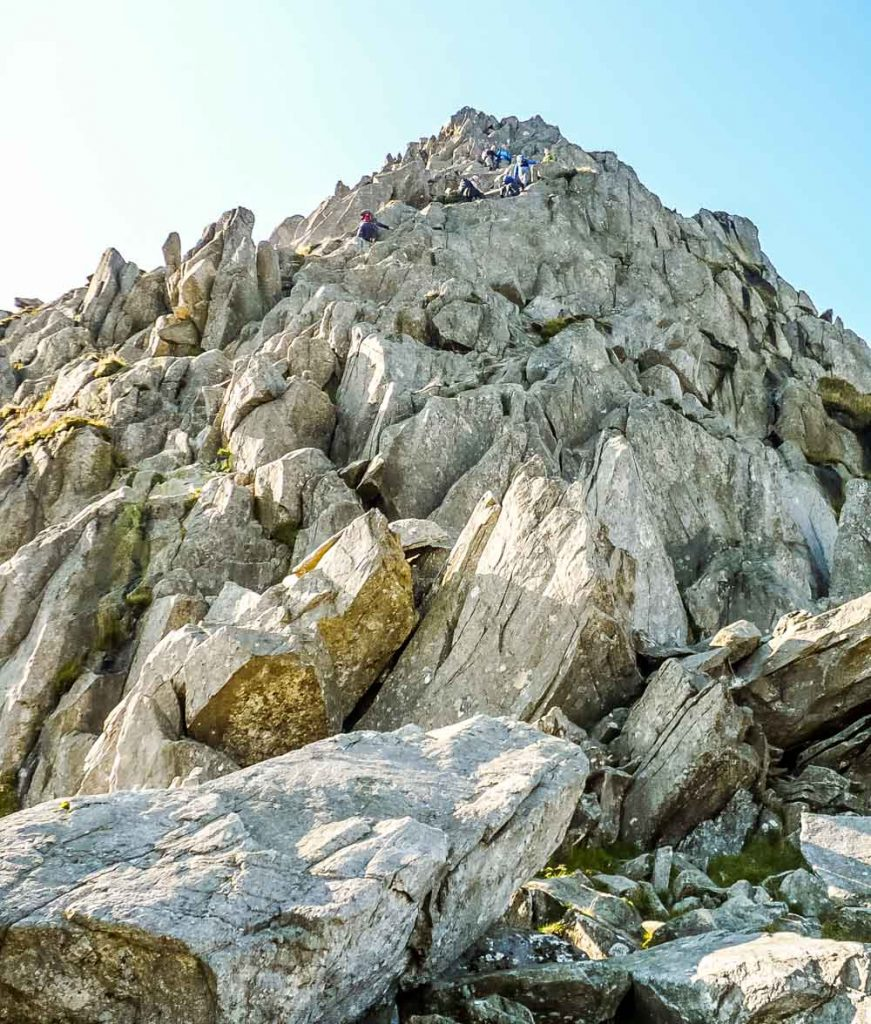 ascent of Tryfan