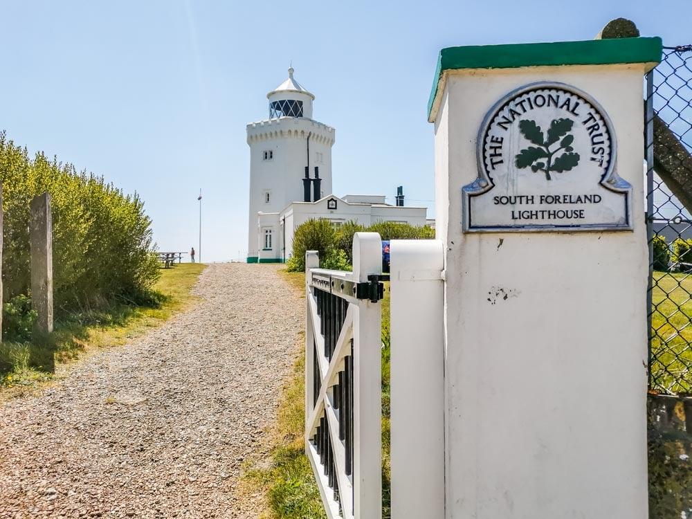 lighthouse entrance gate national trust