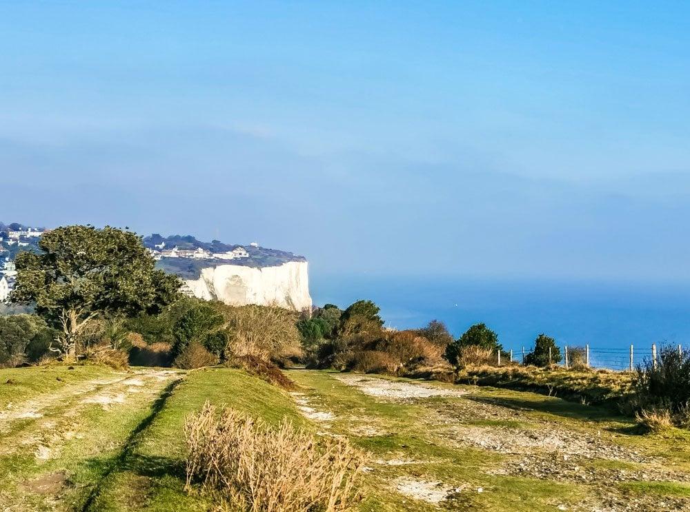 St Margarets Bau cliff walk view
