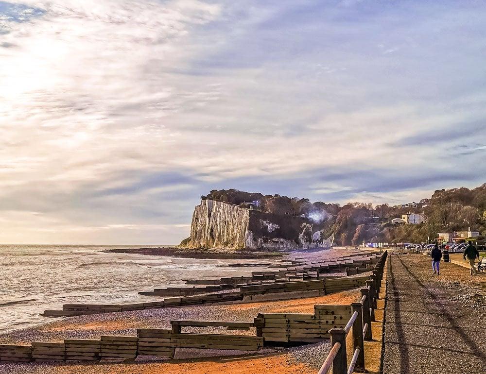 st margaret's beach and promenade