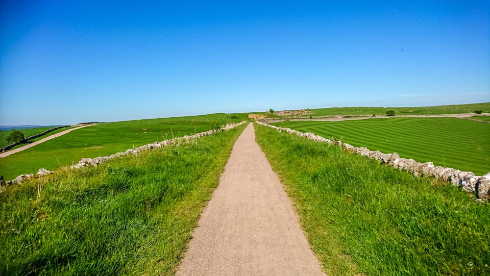 Walking and cycling trail, Derbyshire