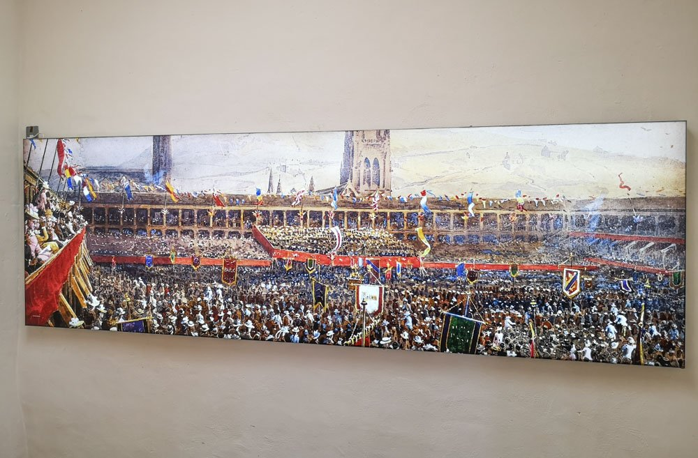 Historical picture of Piece Hall