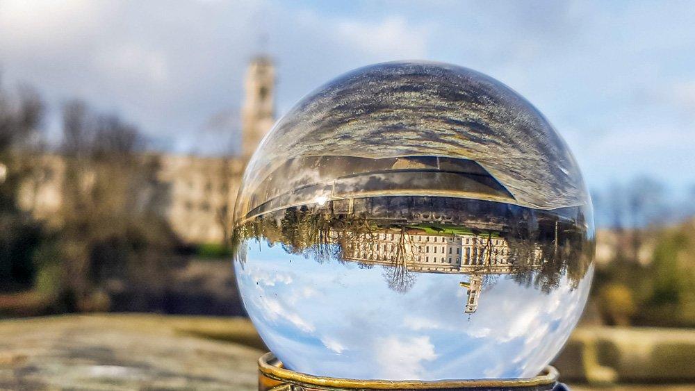 University of Nottingham in lensball