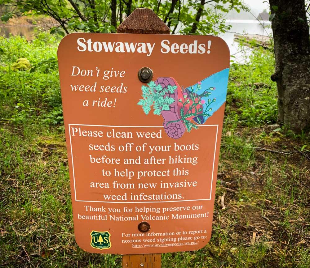 seed warning