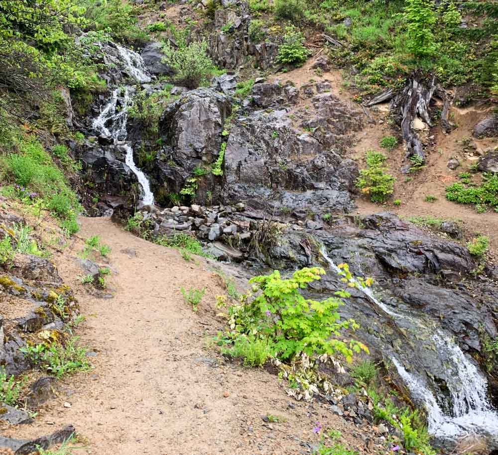 waterfall climb start