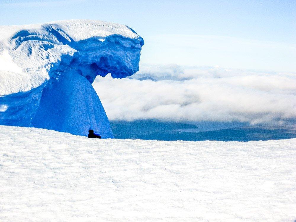 ice on mountain