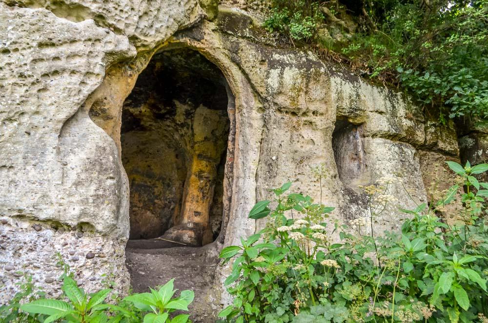 Anglo-Saxon doorway