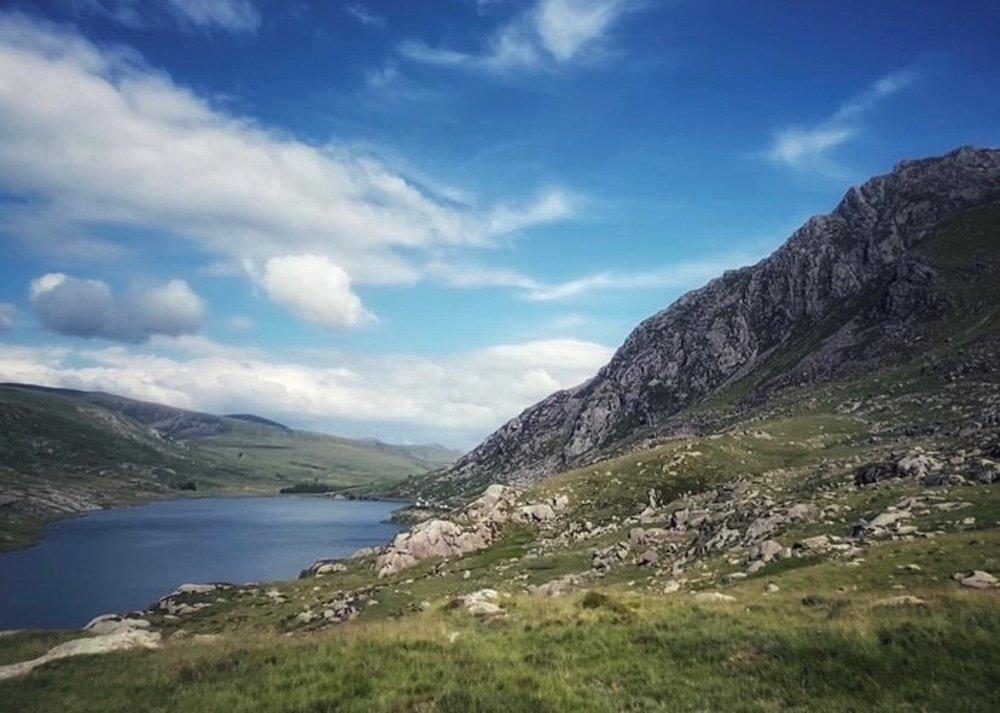 View of Tryfan and Llyn Ogwen