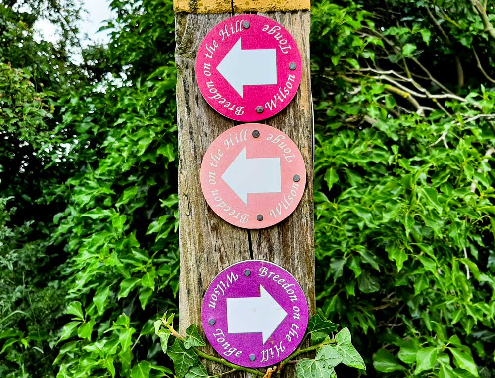 Walking Routes Breedon on the hill