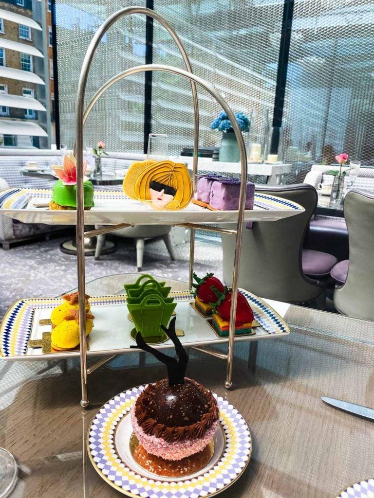 cakes at Pret-A-Portea