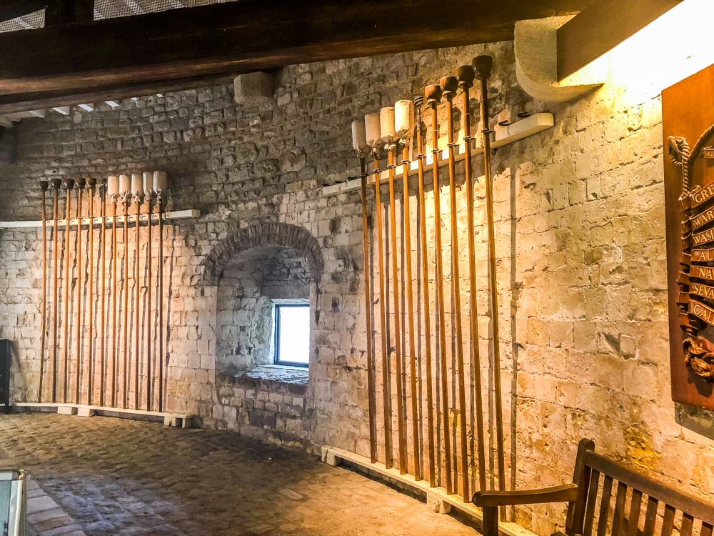 tour inside the castle walmer