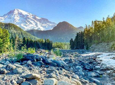 Hike To Carter Falls At Mt Rainier
