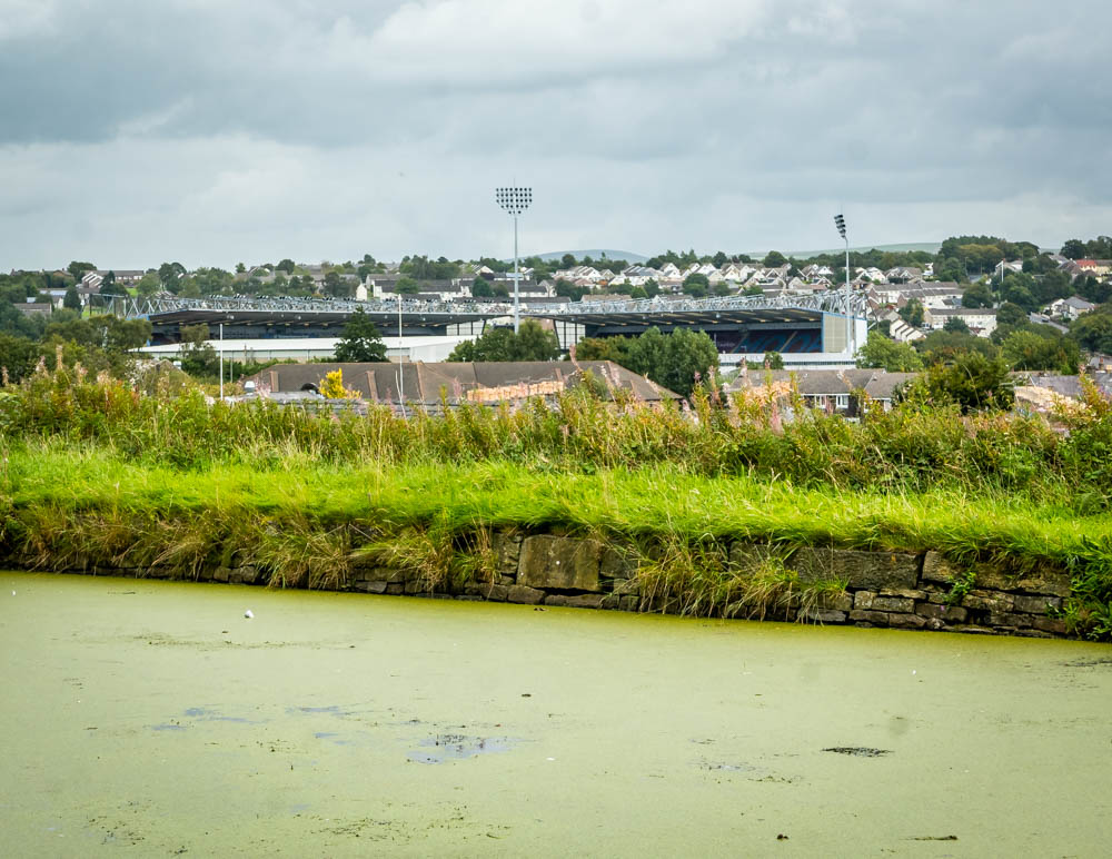 turf moor from the canal