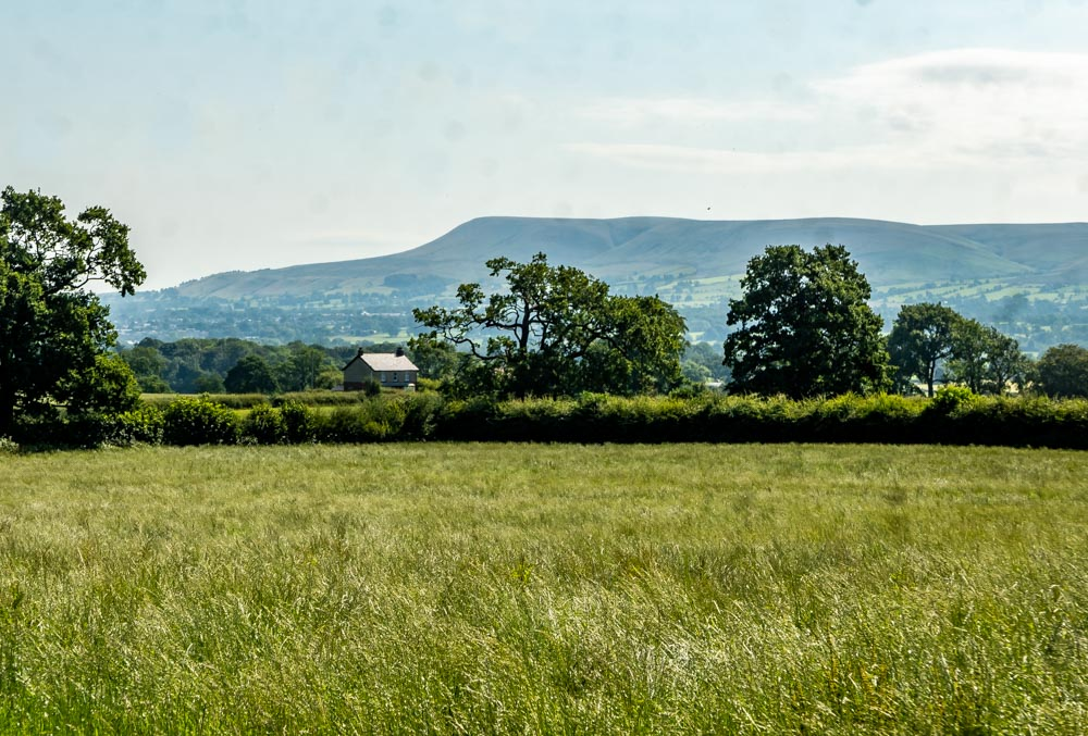 view of pendle hill