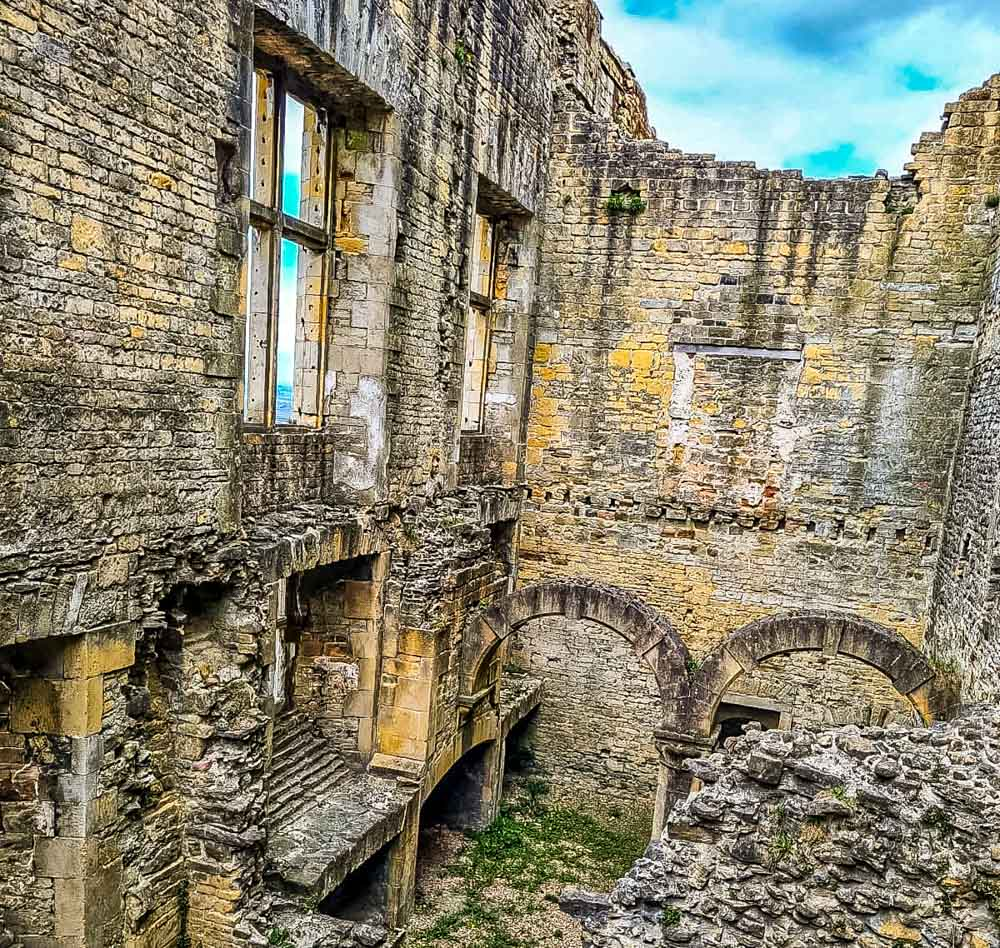 Bolsover Castle the ruins