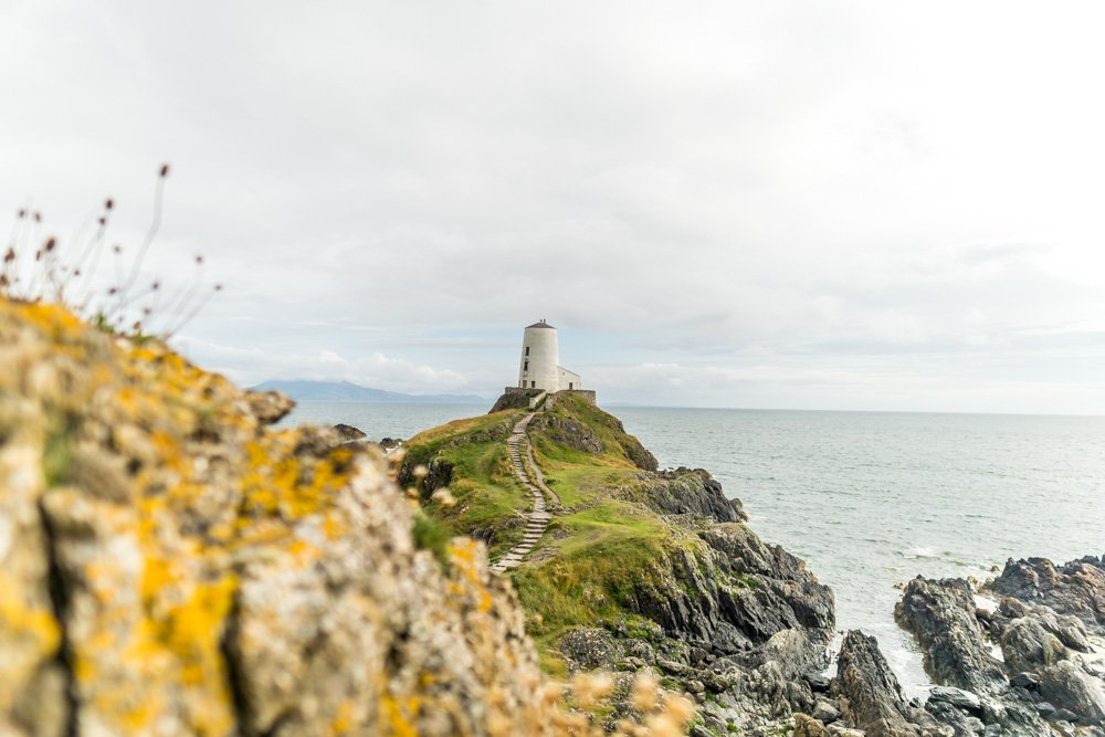 Twr Mawr lighthouse view