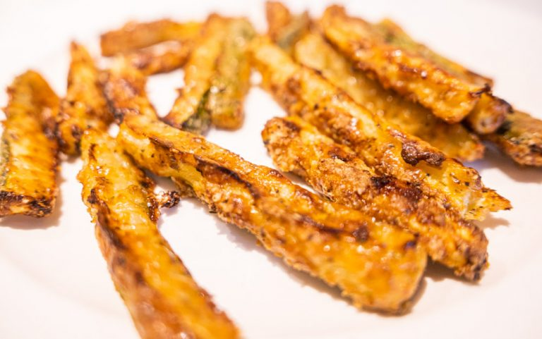 Courgette Fries Recipe – A Cheesy Keto Friendly Treat