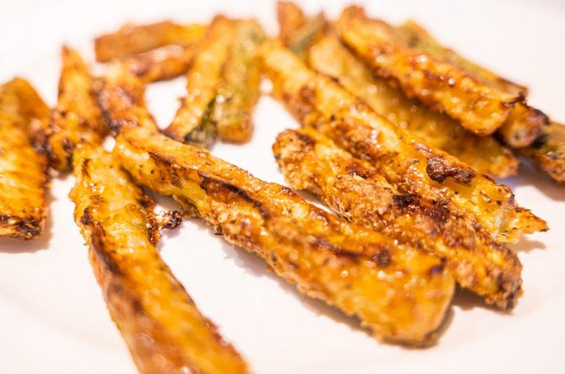 Courgette Fries Recipe - A Cheesy Keto Friendly Treat