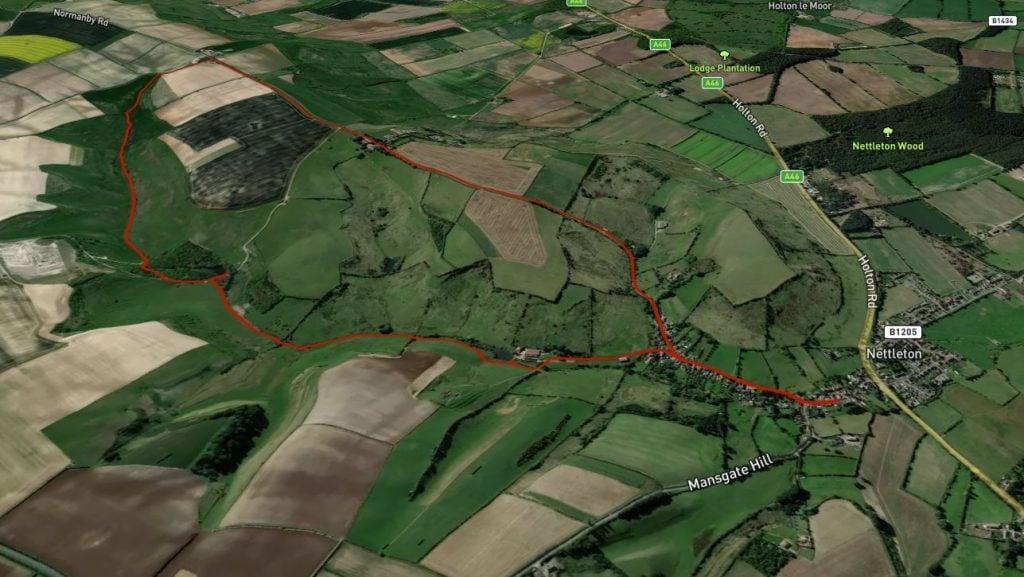 nettleton walk map